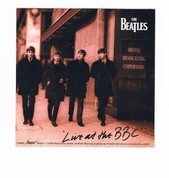 ビートルズ BEATLES LIVE AT THE BBC ステッカー