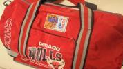 BULLS シカゴブルズ ドラムバック 90年代 NBA 赤 ジョーダン