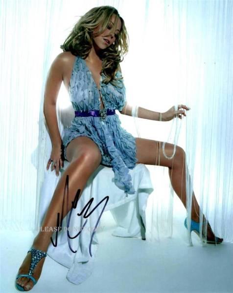 Mariah Carey マライア・キャリー サイン フォト他、写真1枚付き