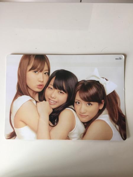 送料無料!AKB48 ノースリーブス 下敷きこじはる たかみな 峯岸