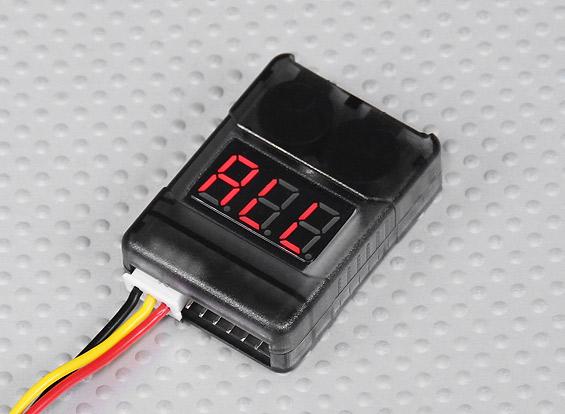 AquaPC★2-8S Cell Checker with Low Voltage Alarm★