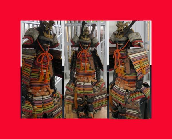 :【古都京都】「鎧J289」武具・弓矢〝武〟_お安く出しております。状態よし