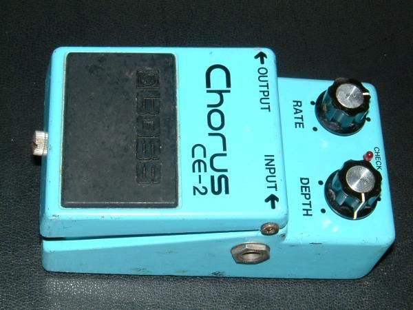 交換可●BOSS CE-2 Chorus 銀ネジ Tak 松本孝弘 日本製 コーラス