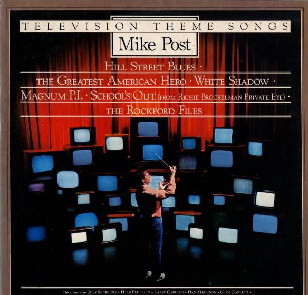 Mike Post 「Television Theme Songs」米国盤LPレコード_画像1