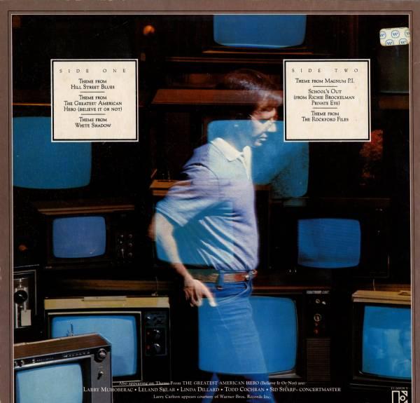Mike Post 「Television Theme Songs」米国盤LPレコード_画像2