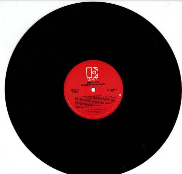 Mike Post 「Television Theme Songs」米国盤LPレコード_画像3