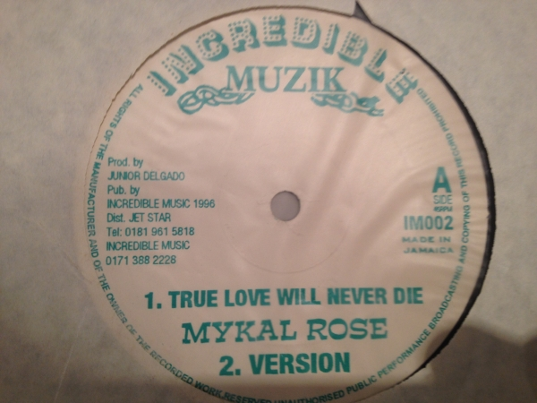 ■Mykal Rose/True Love Will Never Die■KILLER DIGI ROOTS!
