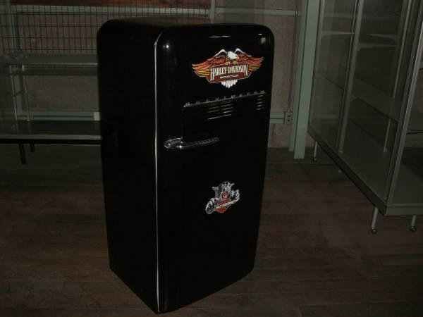 USA アンティーク冷蔵庫 KELVINATOR社製 ハーレーラベル
