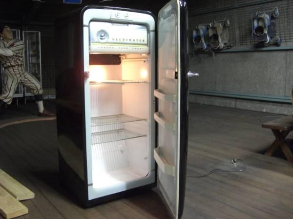 USA アンティーク冷蔵庫 KELVINATOR社製 ハーレーラベル_画像2