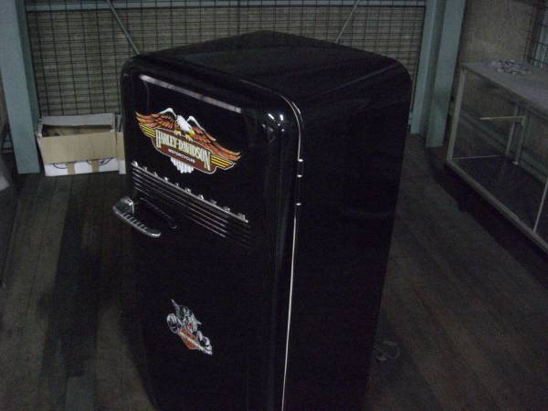 USA アンティーク冷蔵庫 KELVINATOR社製 ハーレーラベル_画像3