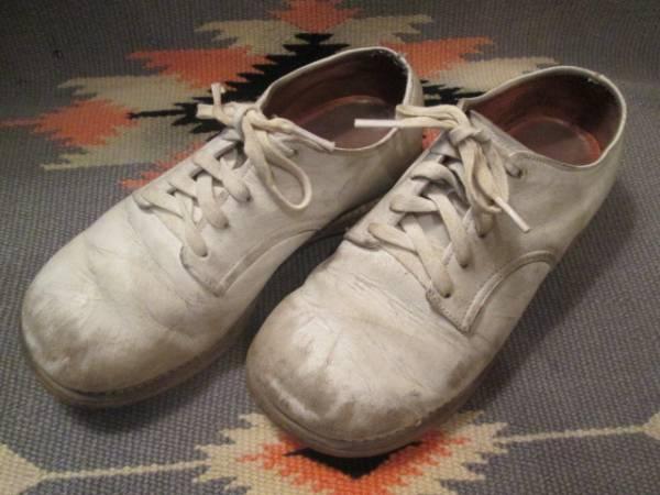 OLD◆アメリカアンティーク ビンテージ子供レザーシューズ革靴/50's60'sブロカント蚤の市古着USAアドバタイジング _画像1