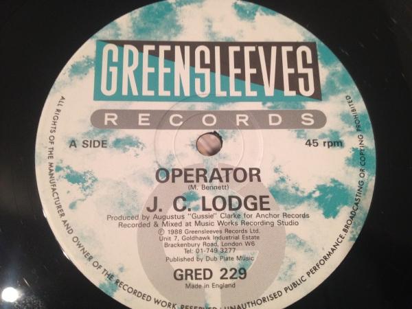 ★J.C.Lodge/Operator★人気ダンスホール!_画像1