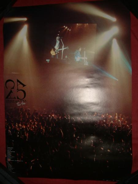 【ポスターH14】 CHAGE&ASKA CONSERT TOUR 2004 two-five