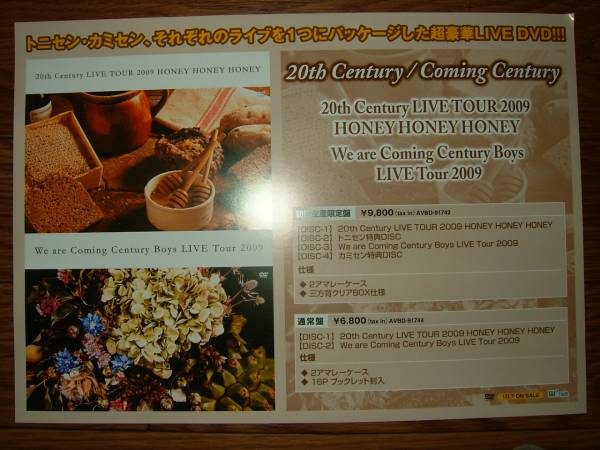 ミニポスターF7 20th Century LIVE TOUR 2009 HONEY HONEY HONEY
