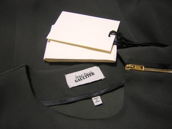 新品 Jean Paul GAULTIER ジャンポール・ゴルチエ イタリア製 変形ドレス ワンピース アシンメトリー_画像3