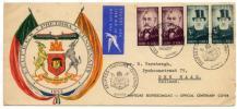 1955年 南アフリカ プレトリア 100周年記念 公用特印封書◆aa-58