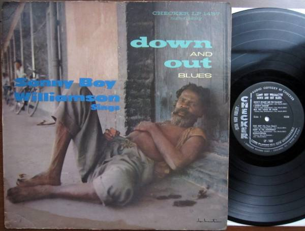 ■SONNY BOY WILLIAMSON DOWN AND OUT BLUES /US 1st MONO_画像1