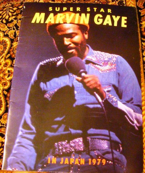 マーヴィン・ゲイ ツアーパンフ★Marvin Gaye In Japan 1979