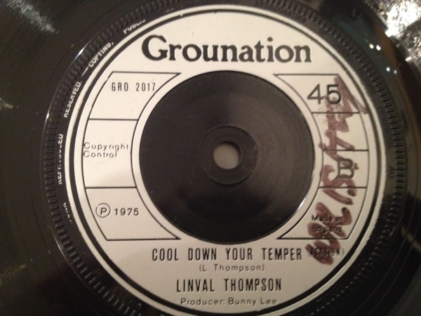 ■Linval Thompson/Cool Down Your Temper■KILLER ROOTS!_画像1