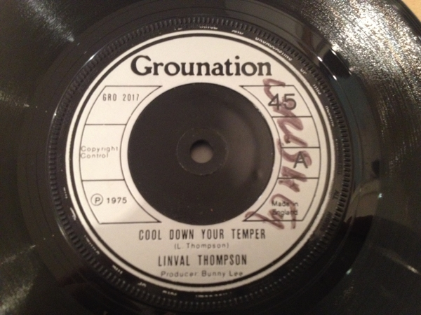 ■Linval Thompson/Cool Down Your Temper■KILLER ROOTS!_画像2