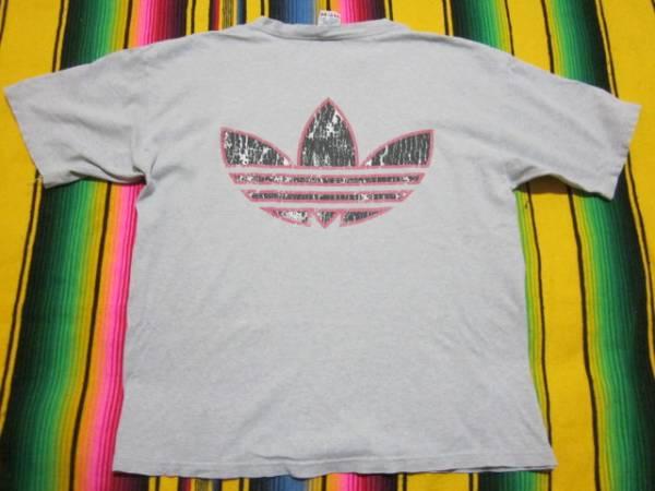 1980S アディダス ADIDAS ビンテージ Tシャツ MADE IN USA OLDSCHOOL HIPHOP オールドスクール ブレイクダンス RUN DMC PUBLIC ENEMY_画像2
