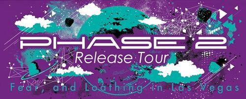 新品☆Fear, and Loathing in Las Vegas マフラータオル 紫☆ ロットングラフティー SiM coldrain WANIMA 10-FEET