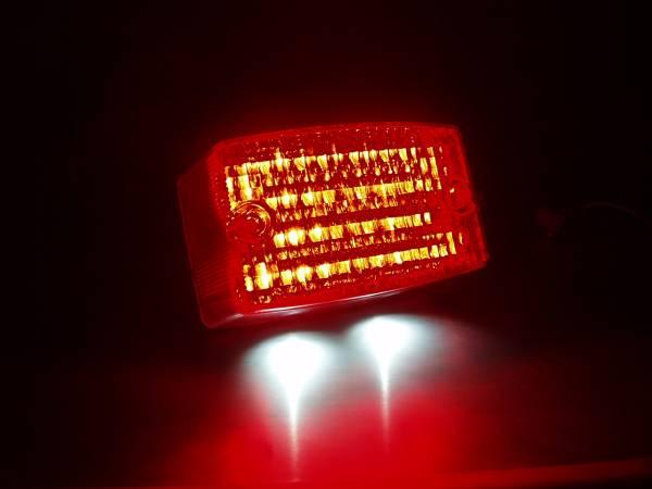 *RGV250Γ(ガンマVJ21A) LEDテールランプユニット S4-B_実装しての発光写真です。