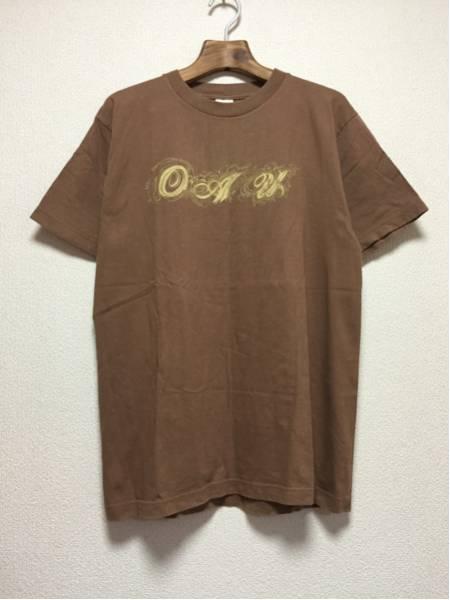 [即決古着]OVERGROUND ACOUSTIC UNDERGROUND/06-07/Tシャツ/半袖/ブラウン/L