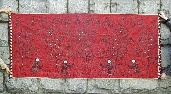 インドネシア・マドゥラ島のバティック古布復刻版(PasirPutri)