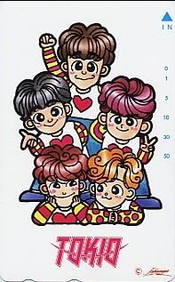 ◆TOKIO(トキオ)のテレカ◆ コンサートグッズの画像