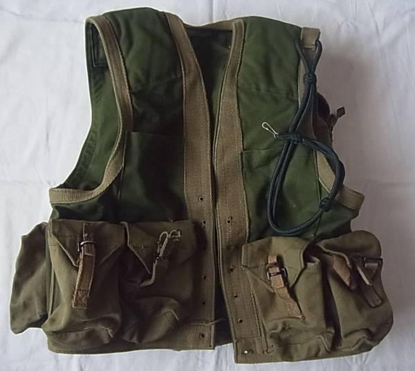 実物 ローデシア軍 カスタムメイド ファイアーフォース コンバットベスト バトルジャケット FAL L1A1 G3 M14 特殊部隊 セルース RLI SAS_画像1