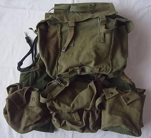 実物 ローデシア軍 カスタムメイド ファイアーフォース コンバットベスト バトルジャケット FAL L1A1 G3 M14 特殊部隊 セルース RLI SAS_画像3