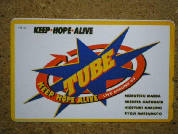 tube・チューブ TUBE '95 テレカ