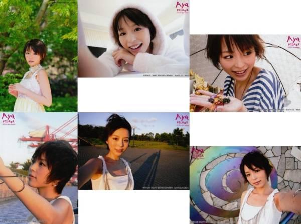 平野綾 写真集特典 写真「'08-'10Aya/Aya-FILE2」6枚セット