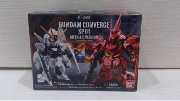 69021 在庫 FW GUNDAM CONVERGE コンバージ SP01 メタリックVer.