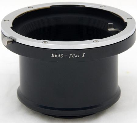 マミヤ Mamiya 645レンズ → FUJIFILM X-Pro1 Xマウントアダプター X-Pro1 X-E2 X-T1 X-T20