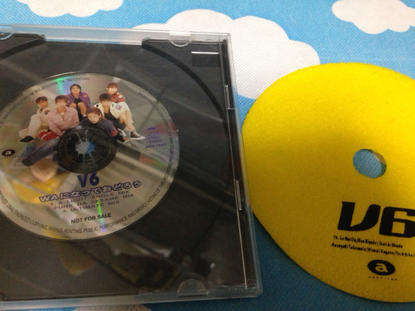 激レア WAになっておどろう当選CDとV6非売品ノベルティset 即決 コンサートグッズの画像