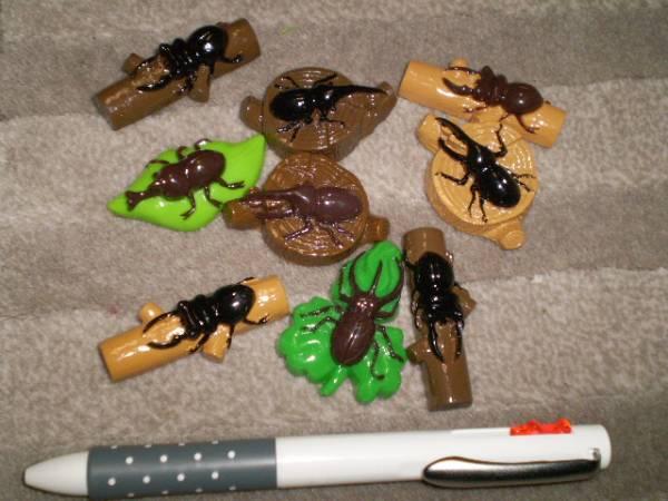 カブトムシ クワガタ フィギュア まとめて 大量 昆虫 まとめて 人形 インテリア