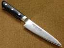 関の刃物 ペティナイフ 120mm 伊勢屋治平 口金付果物包丁 黒合板