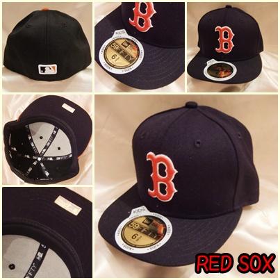 MLB ニューエラ NEW ERA 子供用 キャップ 帽子 ボストン レッドソックス 野球 男の子 輸入 アメリカ プレゼント 53cm_画像1