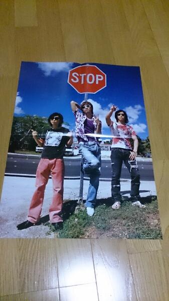 w-inds. 非売品ポスター折り畳み式 vacanza ライブグッズの画像
