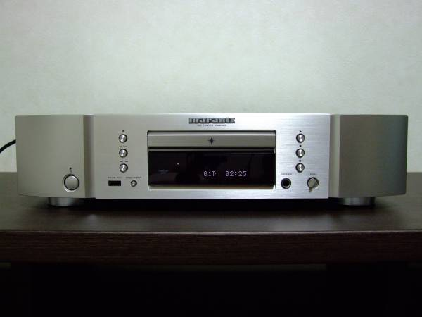 【アナログレコード音質】 marantz CDプレーヤー CD6006 高音質化改良 syno tune Fine Tune 44.1kHz 16bit の真の実力 CD-34を軽く凌駕_右下方に syno tune ロゴシールが付きます