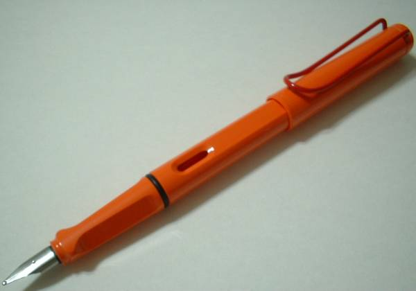 ●希少品2004年 限定品ラミーオレンジ 万年筆ペン先M●_画像2
