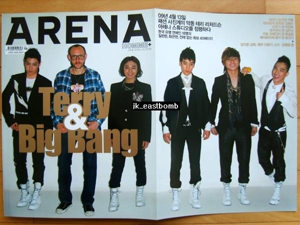 [BIGBANG/ss501/イ・ジュンギ/イ・ミンギ]韓国雑誌1冊/2009年 コンサートグッズの画像