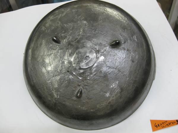 昭和に仕入れた、ちょっと難のある鉄鋳物の煎り鍋30cm_画像3