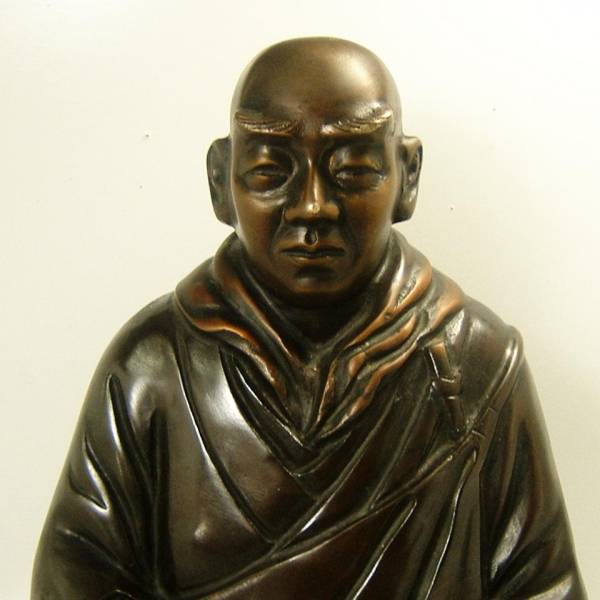 銅像 僧侶 仏教_画像3