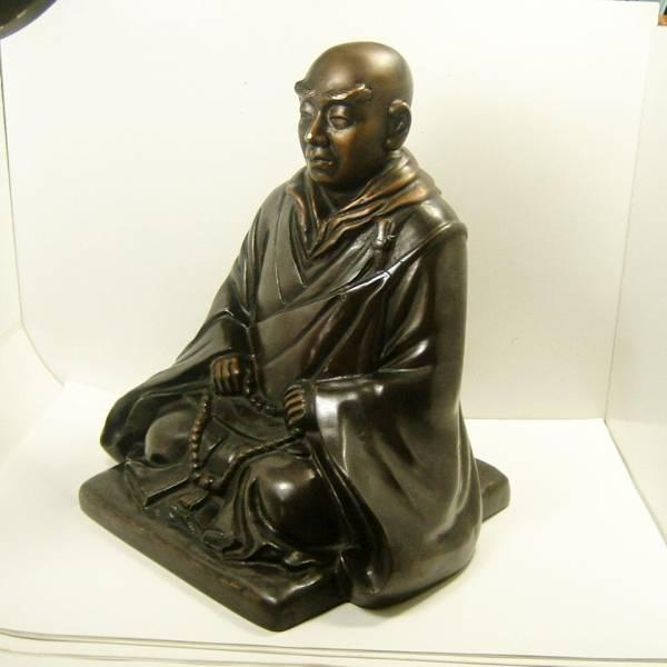 銅像 僧侶 仏教_画像2