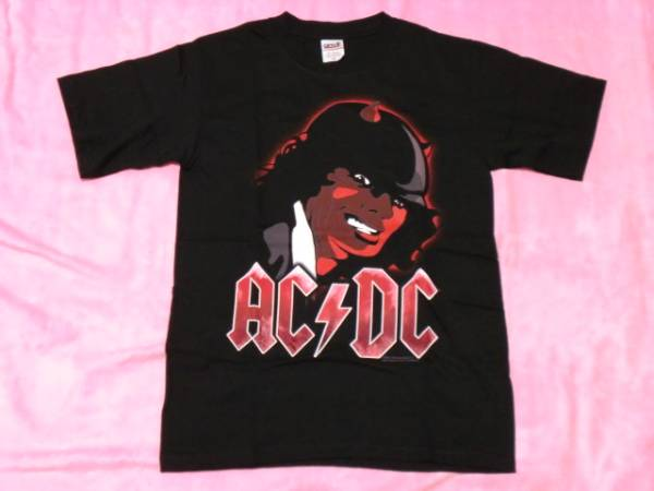 AC/DC ロックTシャツ S バンドT ツアーT ロックT Guns Motley
