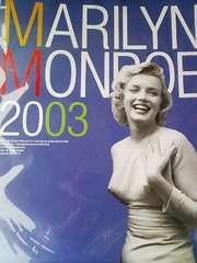 マリリンモンロー/2003年カレンダー 送料無料 グッズの画像