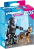 プレイモービル スペシャル 5369 SWAT隊員と警察犬 新品